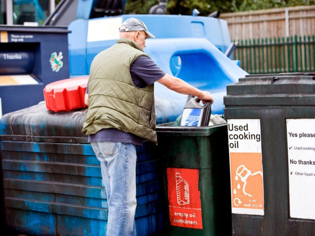 Calverton Household Waste Recycling Centre