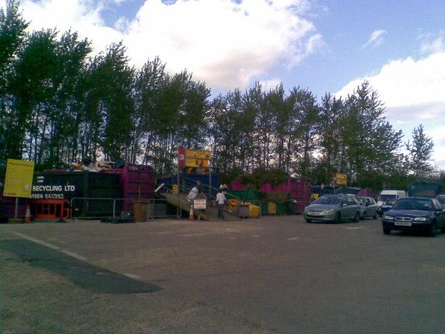 Northampton Ecton Lane Household Waste Recycling Centre