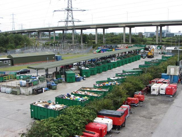 Briton Ferry Recycling Centre