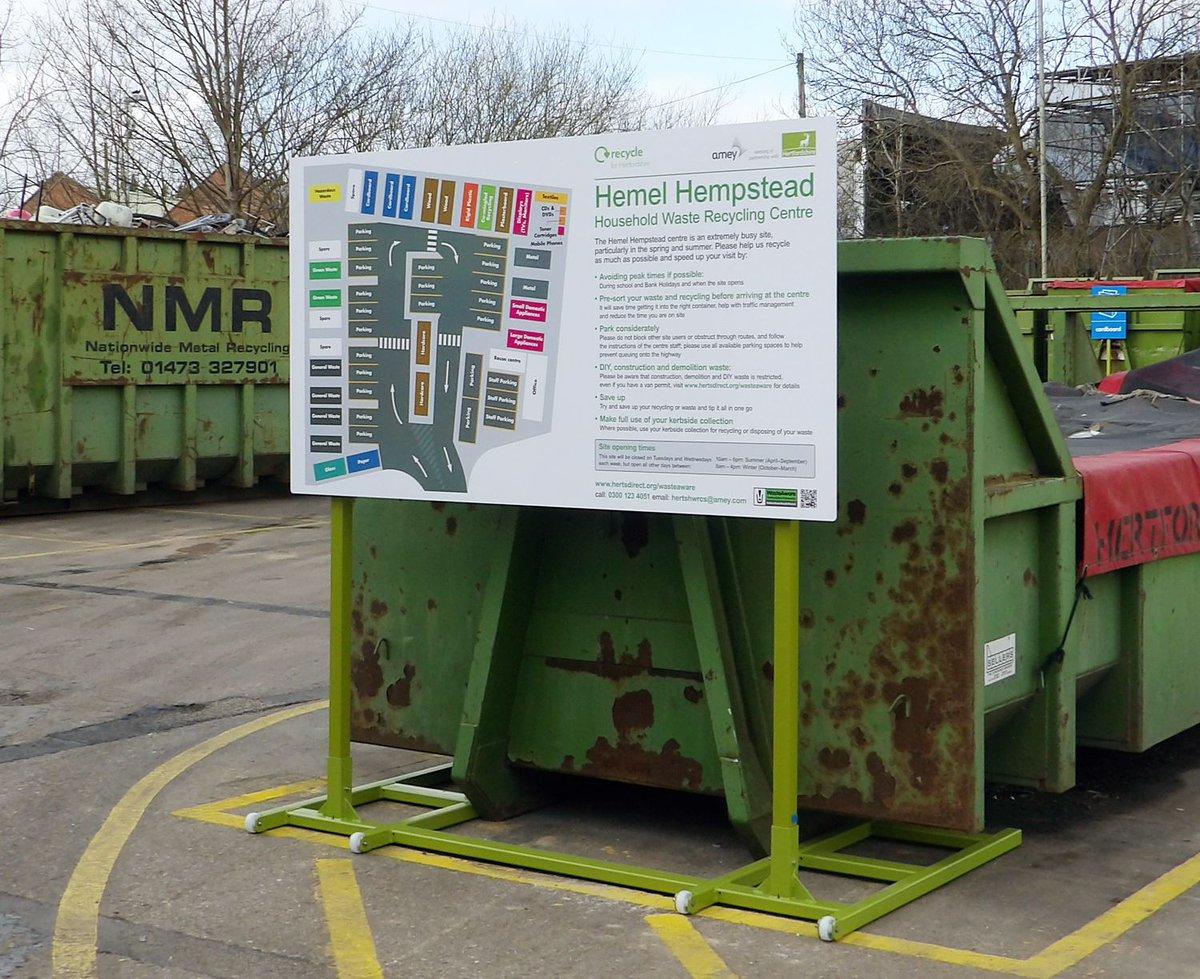 Hemel Hempstead Household Waste Recycling Centre