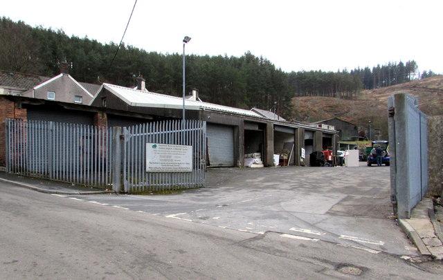 Margam Street Recycling Centre