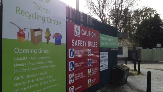 Totnes Recycling Centre