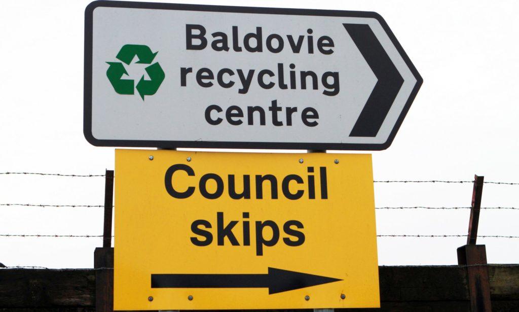 Baldovie Recycling Centre