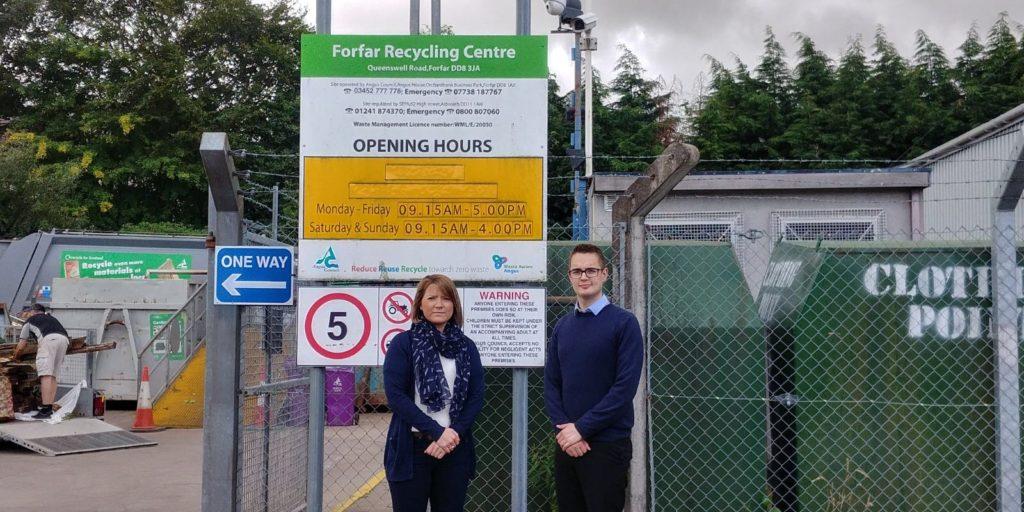 Forfar Recycling Centre