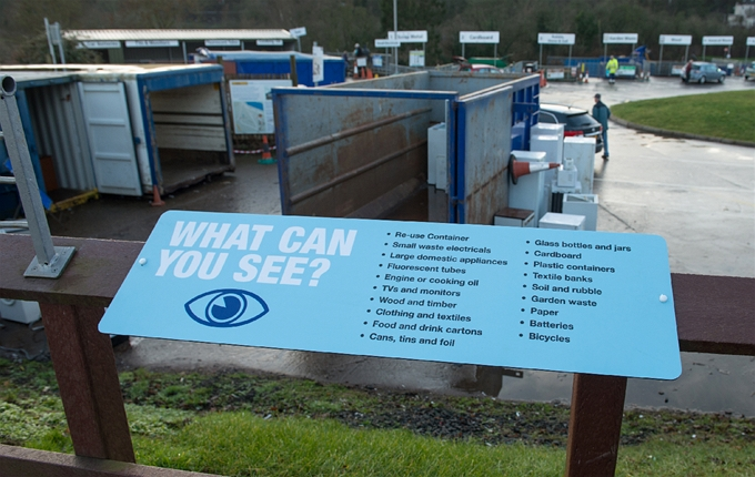 Kinross Recycling Centre