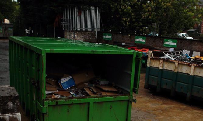 Kirriemuir Recycling Centre
