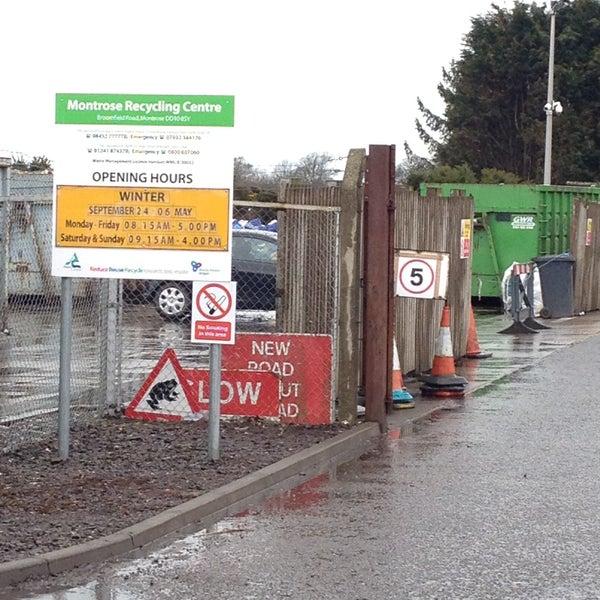 Montrose Recycling Centre