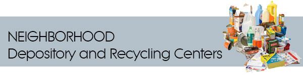 Sunbeam Neighborhood Depository/Recycling Center