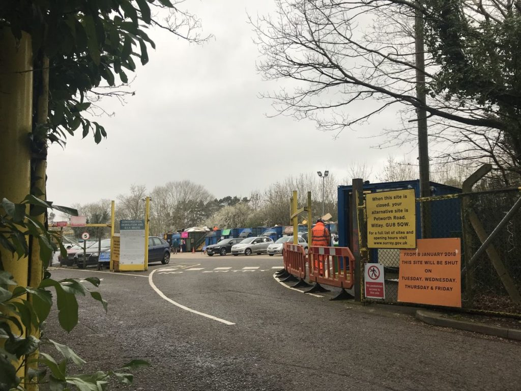 Caterham Community Recycling Centre