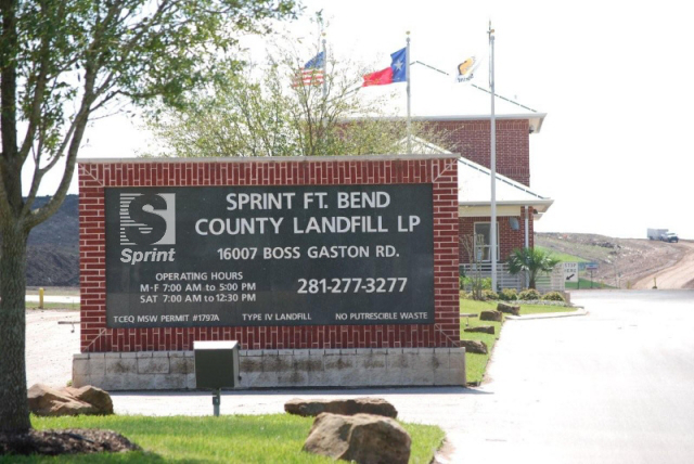 Fort Bend Landfill
