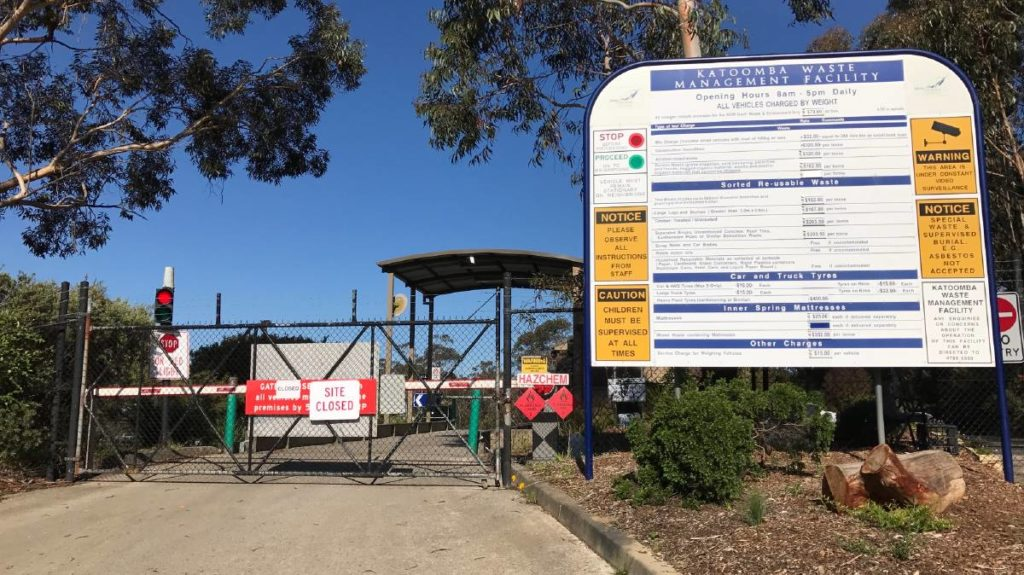 Katoomba Waste Management Facility