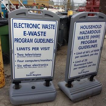 Markham Household Hazardous Waste Depot