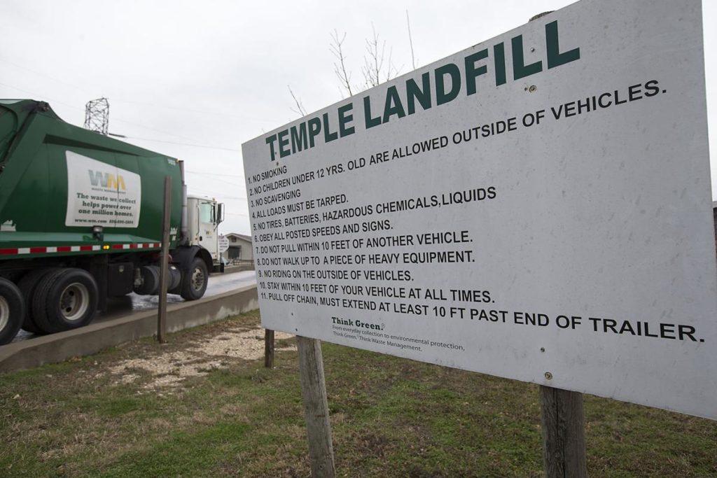 Temple landfill