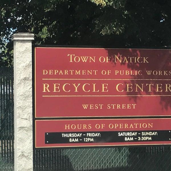 Natick Recycling Center